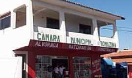 Tomazina - C�mara Municipal de Tomazina-Foto:Aparecido Ferraz