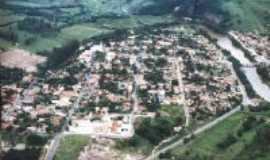 Tomazina - Vista a�rea da cidade, Por Leila Helena da Silva Oliveira