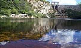 Irec� - Barragem de Miror�s em Irec�-BA-Foto:Ermesson Moura
