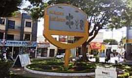 Irecê - Praça Dr.Mário Dourado Sobrinho em Irecê-BA-Foto:Ivan Figueiredo