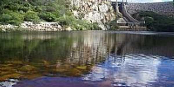 Barragem de Mirorós em Irecê-BA-Foto:Ermesson Moura