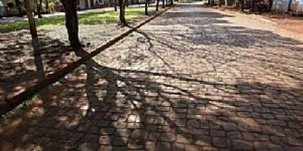 Tupinambá-PR-Avenida do distrito-Foto:douglas marçal