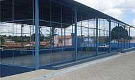 Irundiara - Quadra Poliesportiva em Irundiara-BA-Foto:Palloma, Eliana, Gisele, Zelia, Rosany, Josimeire