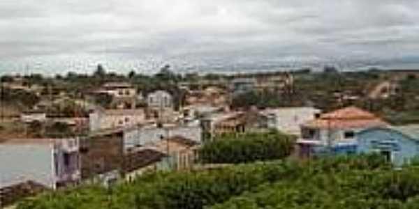 Rio do Gavi�o e a cidade de Irundiara-BA-Foto:Palloma, Eliana, Gisele, Zelia, Rosany, Josimeire