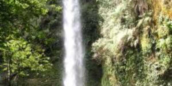Cachoeira Col�nia Velha, Turvo-PR, Por Gilmar Amaral