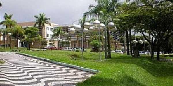 Umuarama-PR-Praça Henio Romagnoli-Foto:Udson Pinho
