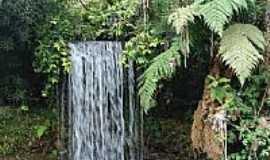 União da Vitória - Cachoeira na Estância Bayer em União da Vitória-PR-Foto:Sofia kawka do Prado