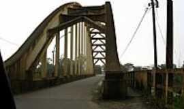 União da Vitória - União da Vitória-PR-Antiga Ponte em Arco-Foto:Loivinho A.M.França