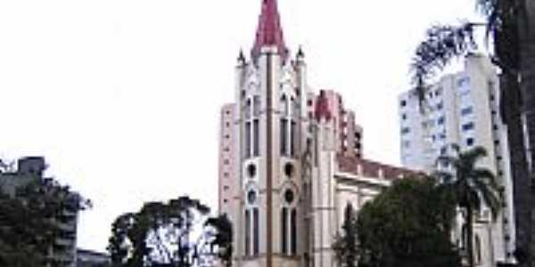 União da Vitória-PR-Catedral do Sagrado Coração de Jesus-Foto:Vicente A. Queiroz