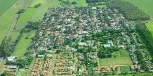 Vista aérea do municipio de Uniflor-Pr