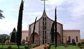 Vera Cruz do Oeste - Igreja de Vera Cruz, por Artemio C.Karpinski.