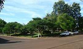 Verê - Praça no centro de Verê-PR-Foto:leonir angelo lunard…