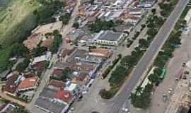 Itabela - Vista aérea da Avenida central de Itabela-BA-Foto:erlancosta