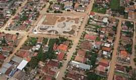 Itabela - Vista aérea do centro de Itabela-BA-Foto:erlancosta