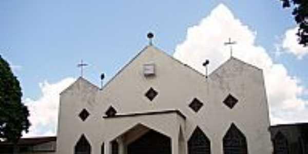 Igreja Matriz de São João Batista em Itabela-BA-Foto:erlancosta