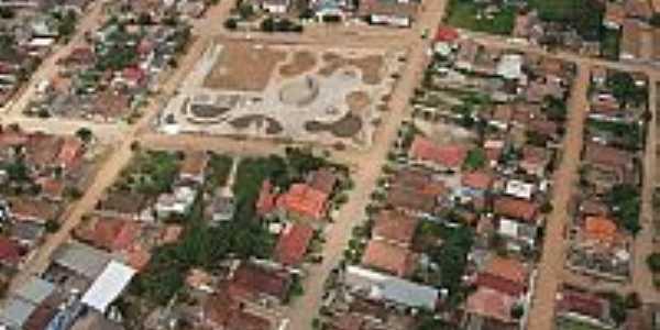 Vista aérea do centro de Itabela-BA-Foto:erlancosta