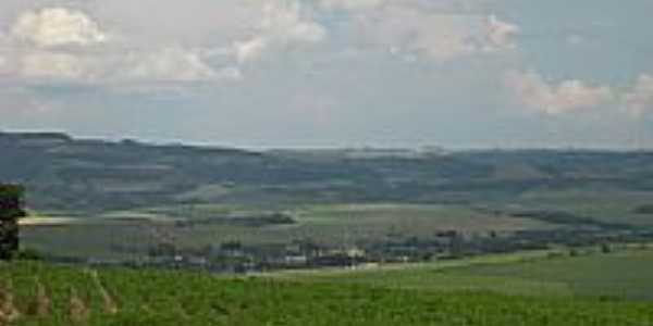 Vista do Distrito de Vista Alegre-Foto:Wagner Munaretto