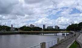 Itabuna - Beira rio em Itabuna-Foto:cerrado