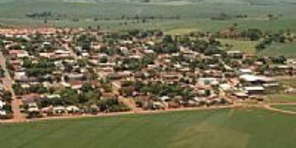 Imagem aérea de Quarto Centenário-Foto:Rodrigo V. Zabini