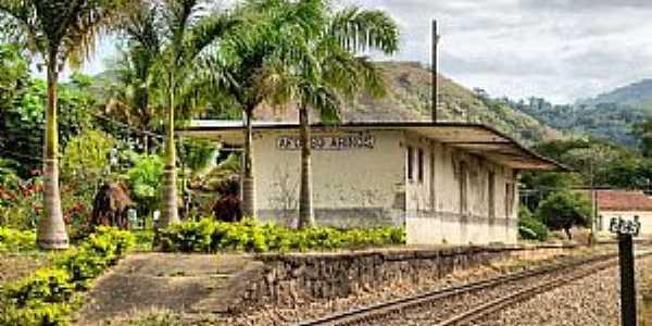 Afonso Arinos-RJ-Estação Ferroviária-Foto:Jorge A. Ferreira Jr.