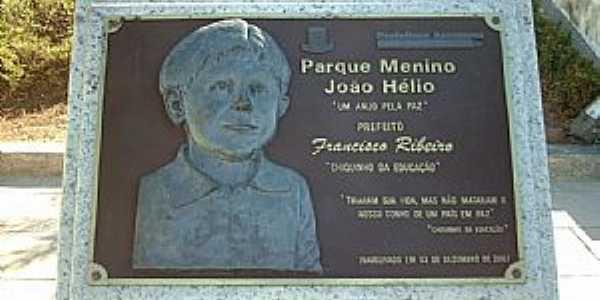Araruama-RJ-Memorial em homenagem no Parque Menino João Hélio-Foto:Sergio Falcetti