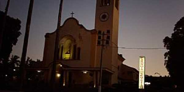 Araruama-RJ-Vista Norurna da Matriz de São Sebastião-Foto:Sergio Falcetti