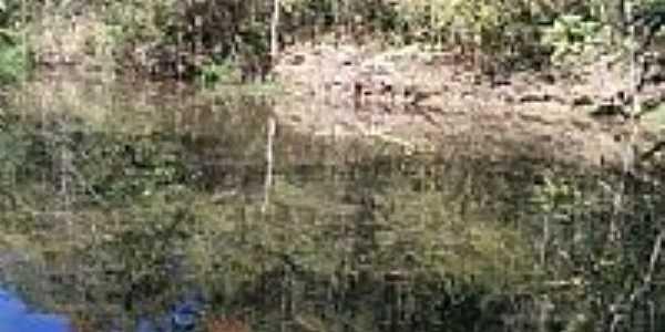 Lago no Centro de Formação Pastoral em Arrozal-Foto:Eugenio C. Nicolau