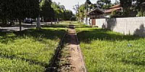 Pitoresca linha férrea em Baltazar-Foto:Pimpolho37