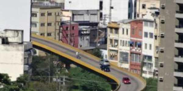 Centro de Barra do Piraí  - Viaduto Governador Faria Lima, Por Vicente Siqueira