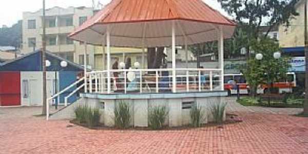 Barra do Piraí-RJ-Coreto na Praça central-Foto:ViajanteUSBR