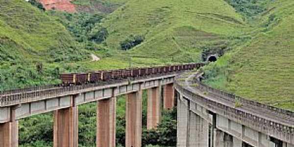 Barra Mansa-RJ-Rio Túnel e a Ferrovia do Aço-Foto:Bruno ViajanteFLA