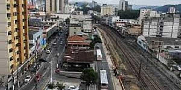 Barra Mansa-RJ-Vista parcial da cidade-Foto:juventudebm.blogspot.com