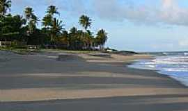 Itacimirim - Coqueiros na praia de Itacimirim-Foto:Poloniux