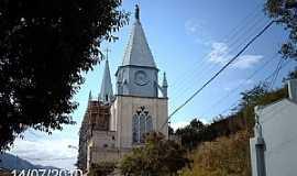 Bom Jesus do Itabapoana - Bom Jesus do Itabapoana-RJ-Igreja do Senhor Bom Jesus Cruxificado e Imaculado Coração-Foto:Sergio Falcetti