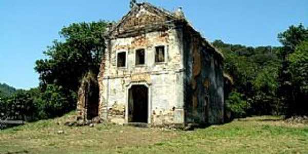 Cachoeiras de Macacu-RJ-Ru�nas da Igreja de S�o Jos� da Boa Morte-Foto:www.patrimoniofluminense.rj.gov.br