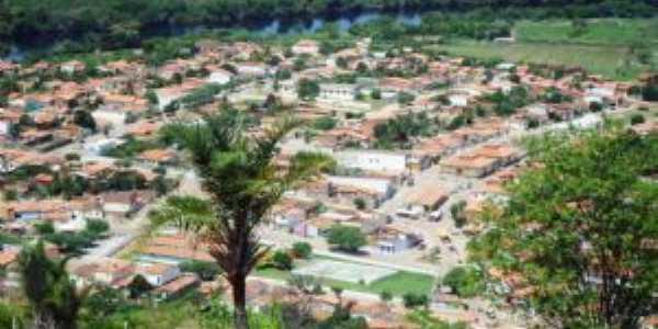 TURISMO: Vista panor�mica do bairro paroquial no centro da cidade de Itaet� Bahia, Por Val Marques