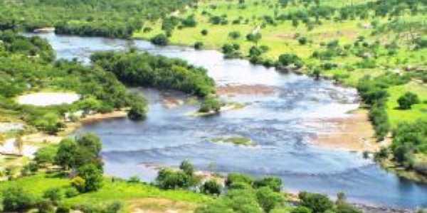 Rio Paraguaçu na cidade de Itaetê Bahia, Por Val Marques