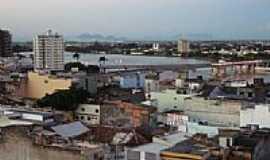 Campos dos Goytacazes - Rio Para�ba e a cidade de Campos dos Goytacazes-Foto:Urias E. Takatohi
