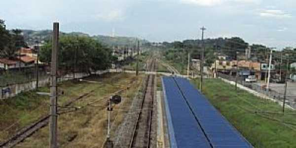 Campos Elíseos-RJ-Plataforma da Estação em 2010-Foto:Julio C. Silva