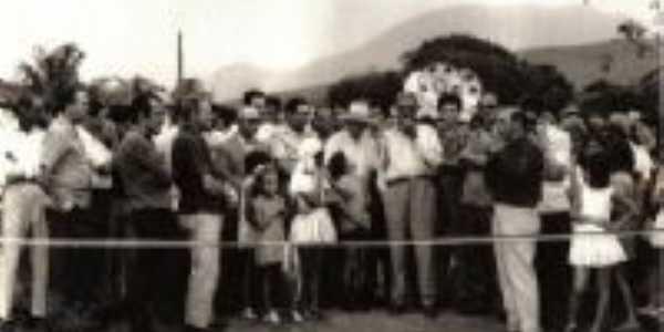 Inauguração de ponte em carabuçu, Por Carabuçu