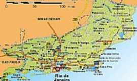 Carapebus - Mapa