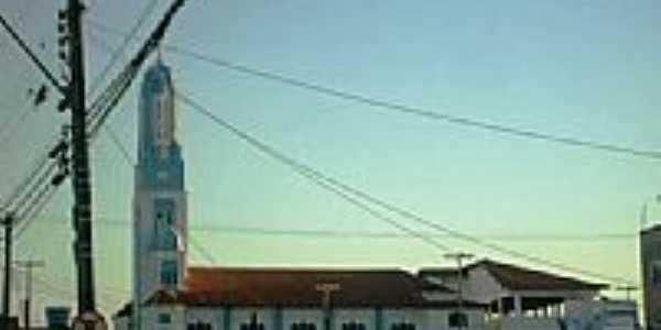 Lateral da Igreja Matriz de N.Sra.da Glória em Carapebus-Foto:RYDOJ