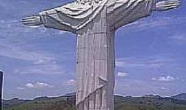 Cardoso Moreira - Imagem do Cristo Redentor no Mirante em Cardoso Moreira-Foto:Herinelson