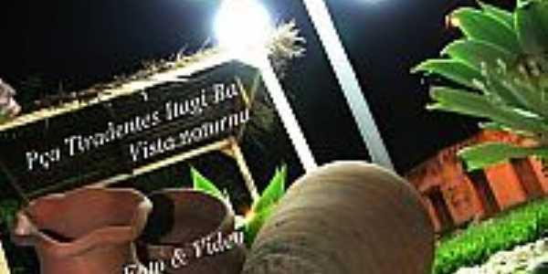 Itag�-BA-Detalhes da Pra�a Tiradentes-Foto:lenilton