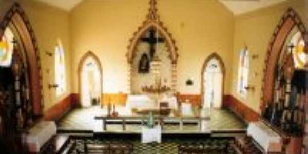 Comendador Levy Gasparian-RJ-Interior da Igreja de Monte Serrat-Foto:Jos� Carlos da Silveira Badar�