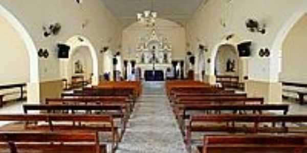 Interior da Capela de São Sebastião-Foto:sgtrangel