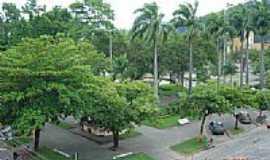 Conceição de Macabu - Praça José Bonifácio Tassara,vista do alto, em Conceição de Macabu-Foto:Carlos Edward