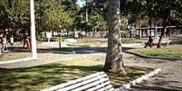 Praça Dr.José Bonifácio Tassara em Conceição de Macabu-Foto:Sergio Falcetti