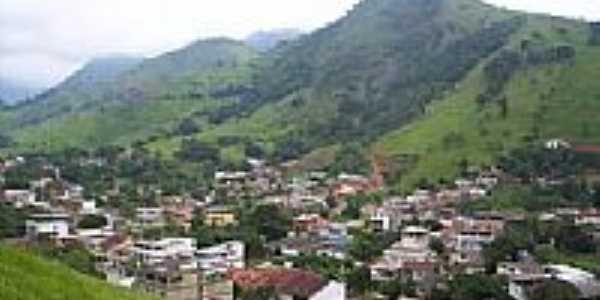 Vista do Bairro da Bocaina em Conceição de Macabu-Foto:Carlos Edward