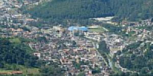 Vista aérea do Jardim Ouro Preto em Conselheiro Paulino-Foto:Acervo Digital Castr…